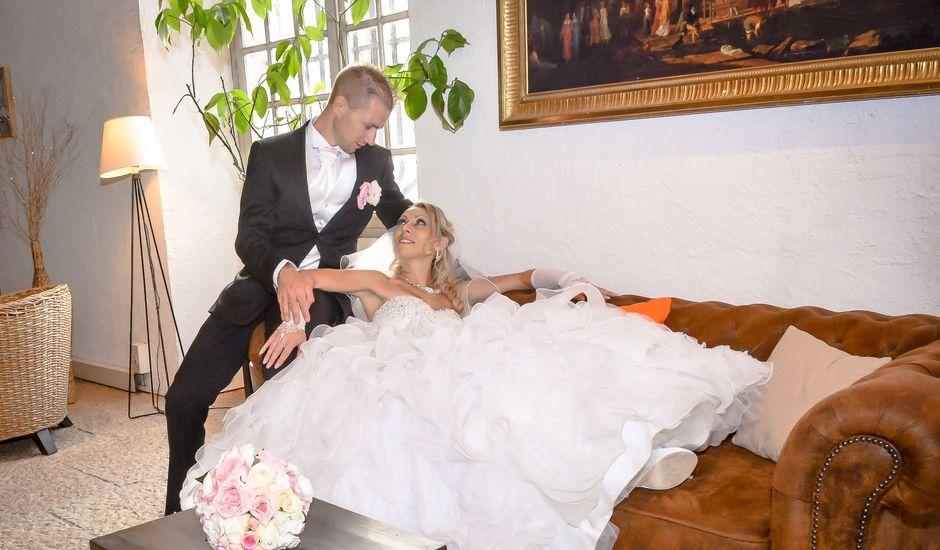 Le mariage de Renaud et Justine à Saint-Maximin-la-Sainte-Baume, Var