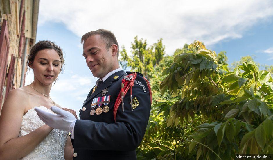 Le mariage de Thomas et Élisa à La Chapelle-de-Guinchay, Saône et Loire