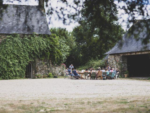 Le mariage de William et Margot à Augan, Morbihan 2