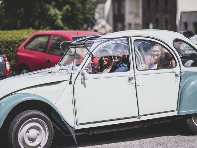 Le mariage de William et Margot à Augan, Morbihan 11