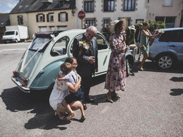 Le mariage de William et Margot à Augan, Morbihan 12