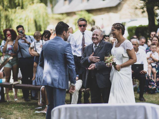 Le mariage de William et Margot à Augan, Morbihan 22