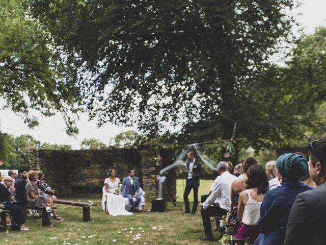 Le mariage de William et Margot à Augan, Morbihan 23