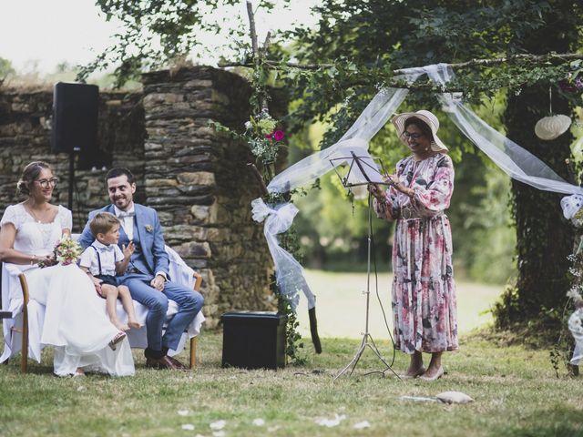 Le mariage de William et Margot à Augan, Morbihan 26