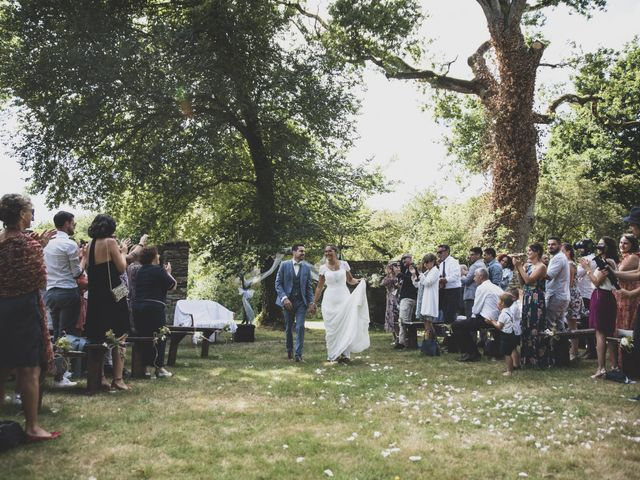 Le mariage de William et Margot à Augan, Morbihan 27