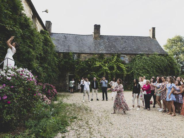 Le mariage de William et Margot à Augan, Morbihan 43