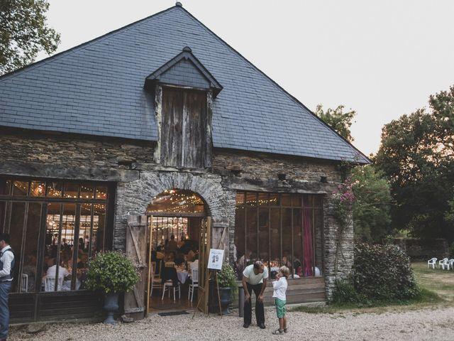 Le mariage de William et Margot à Augan, Morbihan 49