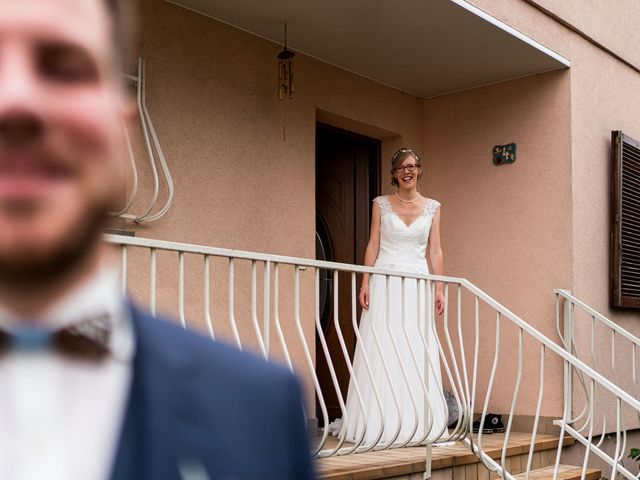 Le mariage de Xavier et Pauline à Schwindratzheim, Bas Rhin 4