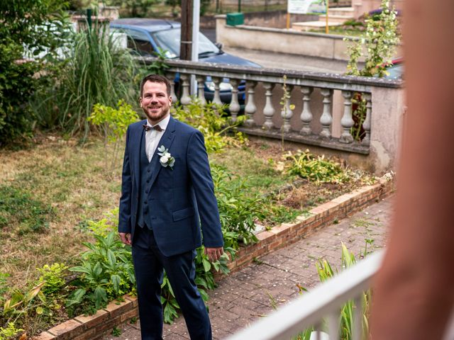 Le mariage de Xavier et Pauline à Schwindratzheim, Bas Rhin 6