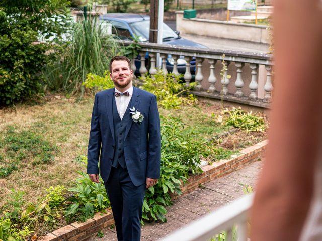 Le mariage de Xavier et Pauline à Schwindratzheim, Bas Rhin 7