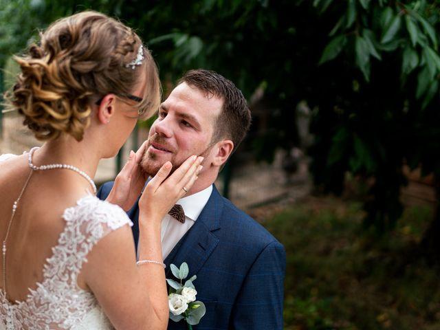 Le mariage de Xavier et Pauline à Schwindratzheim, Bas Rhin 9