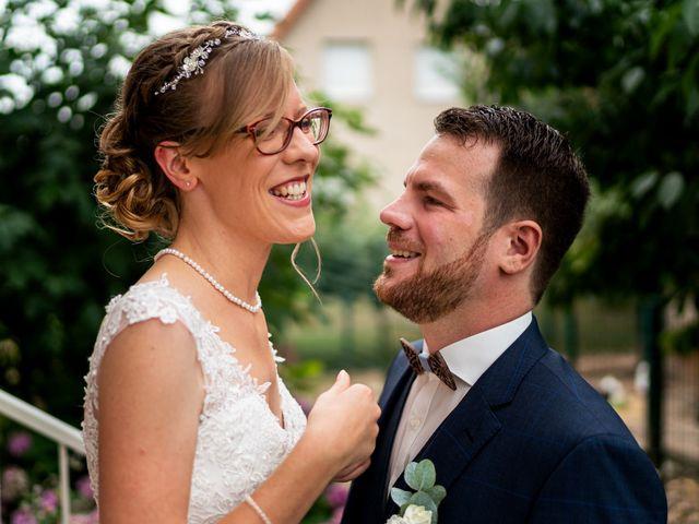 Le mariage de Xavier et Pauline à Schwindratzheim, Bas Rhin 10