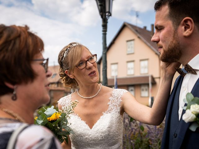 Le mariage de Xavier et Pauline à Schwindratzheim, Bas Rhin 16