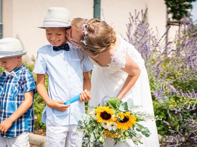 Le mariage de Xavier et Pauline à Schwindratzheim, Bas Rhin 17