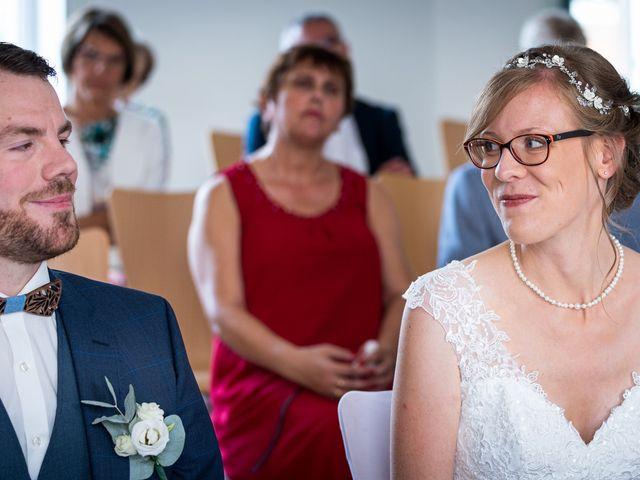 Le mariage de Xavier et Pauline à Schwindratzheim, Bas Rhin 20