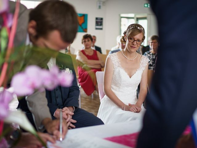 Le mariage de Xavier et Pauline à Schwindratzheim, Bas Rhin 23