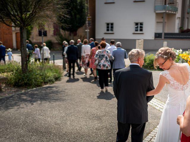 Le mariage de Xavier et Pauline à Schwindratzheim, Bas Rhin 28