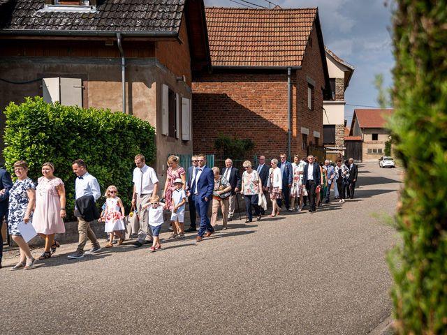 Le mariage de Xavier et Pauline à Schwindratzheim, Bas Rhin 30