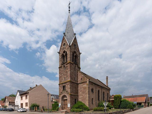 Le mariage de Xavier et Pauline à Schwindratzheim, Bas Rhin 31