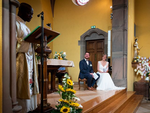 Le mariage de Xavier et Pauline à Schwindratzheim, Bas Rhin 40