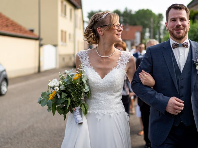 Le mariage de Xavier et Pauline à Schwindratzheim, Bas Rhin 51