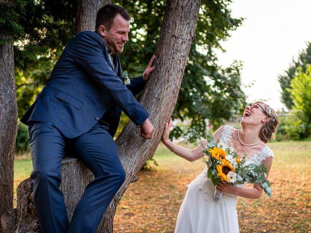 Le mariage de Xavier et Pauline à Schwindratzheim, Bas Rhin 65
