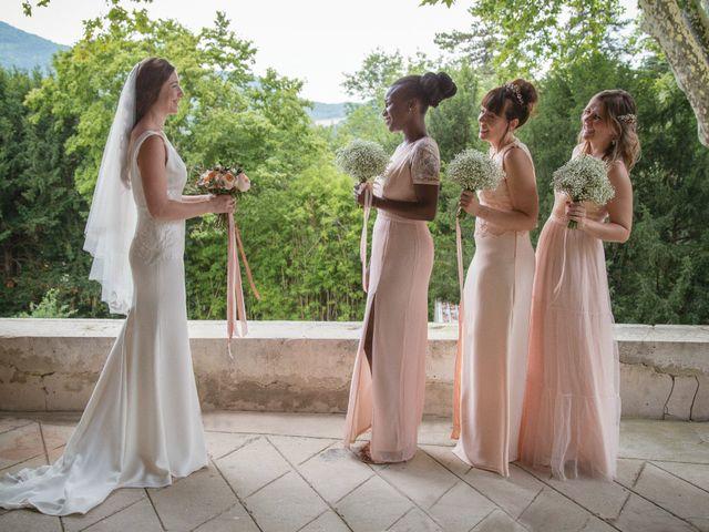 Le mariage de Morgan et Marjorie à Mirabel-et-Blacons, Drôme 9