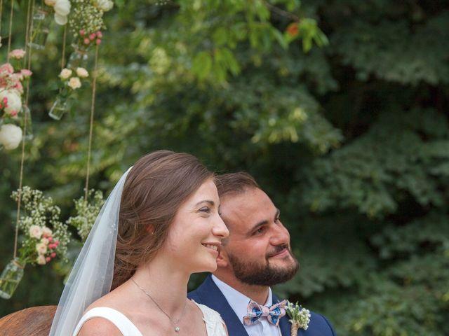 Le mariage de Morgan et Marjorie à Mirabel-et-Blacons, Drôme 13