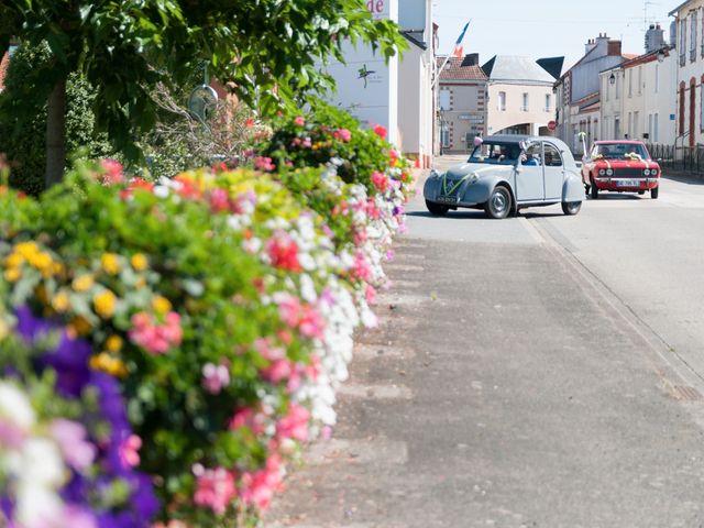 Le mariage de Sébastien et Alexandra à Chémeré, Loire Atlantique 15