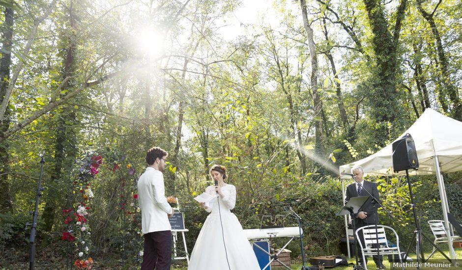 Le mariage de Thimothée et Tania à Saint-Cyr-des-Gâts, Vendée