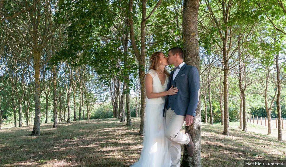 Le mariage de Sébastien et Alexandra à Chémeré, Loire Atlantique