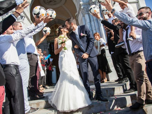 Le mariage de Paul et Elodie à Bénac, Hautes-Pyrénées 62