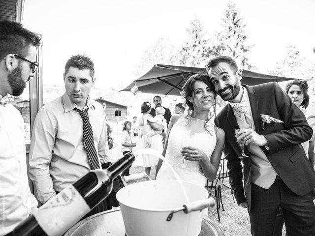 Le mariage de Paul et Elodie à Bénac, Hautes-Pyrénées 75