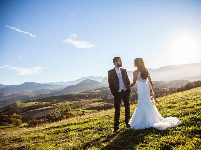 Le mariage de Paul et Elodie à Bénac, Hautes-Pyrénées 95