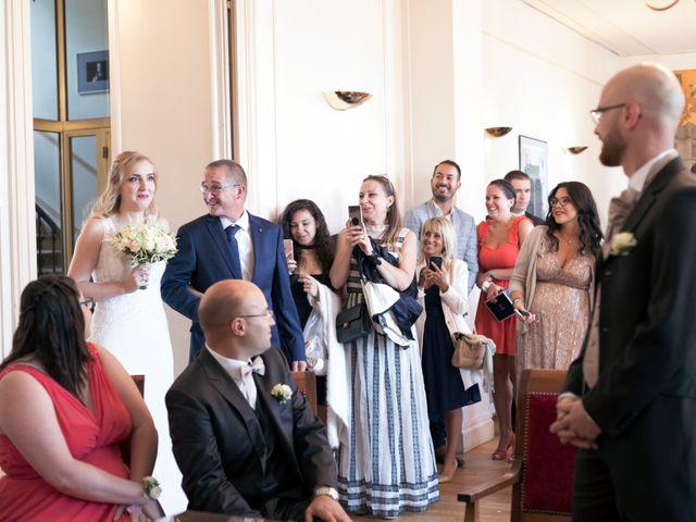 Le mariage de Xavier et Katia à Mauperthuis, Seine-et-Marne 19
