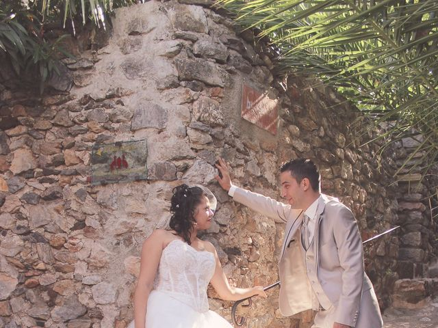 Le mariage de Richard et Nelly à Castelnou, Pyrénées-Orientales 11