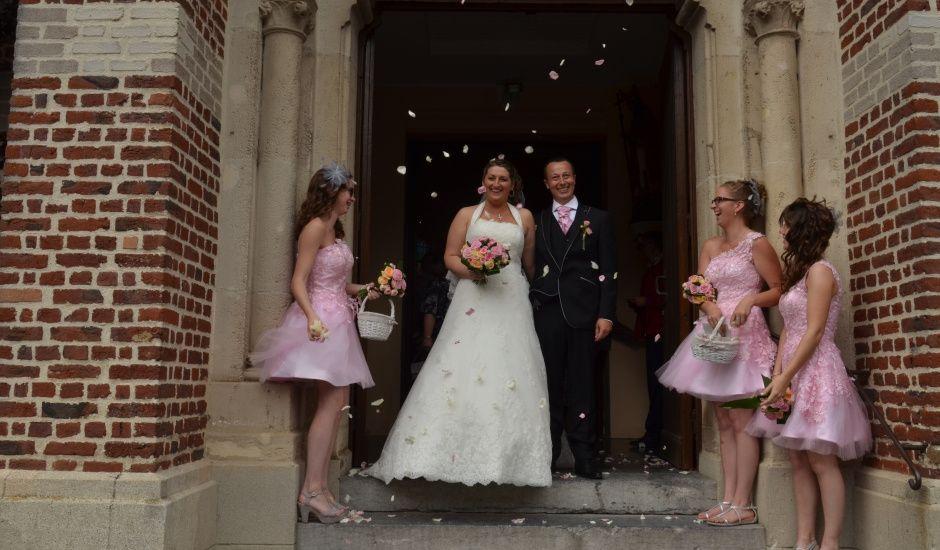 Le mariage de Adeline et Bernard à Féchain, Nord