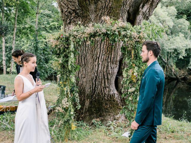 Le mariage de Pierre et Cécile à Ingrandes, Indre 39