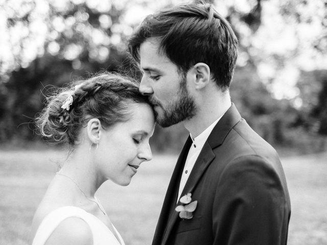 Le mariage de Pierre et Cécile à Ingrandes, Indre 56
