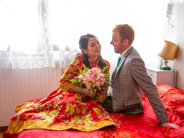 Le mariage de Micheline et Bastien