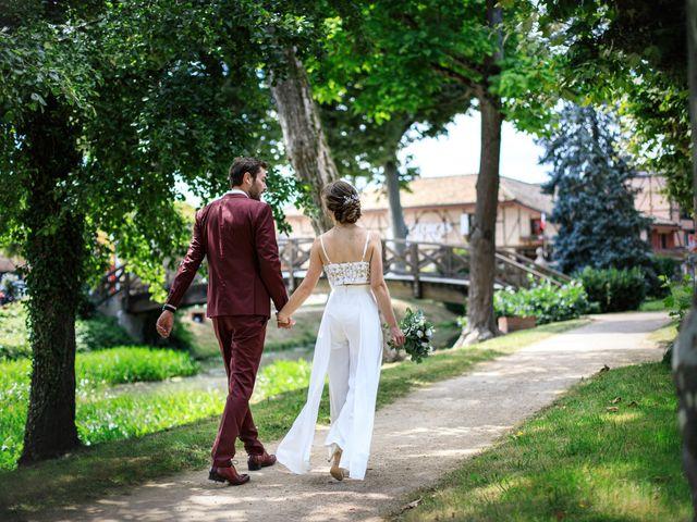 Le mariage de Martin et Alexandra à Vonnas, Ain 1