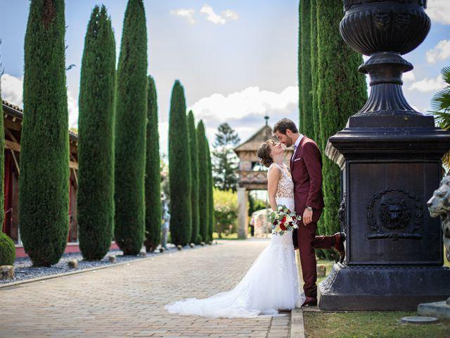 Le mariage de Martin et Alexandra à Vonnas, Ain 2