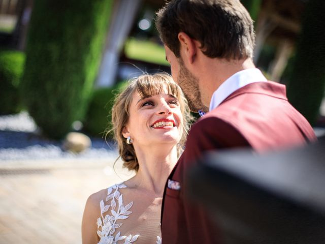 Le mariage de Martin et Alexandra à Vonnas, Ain 3