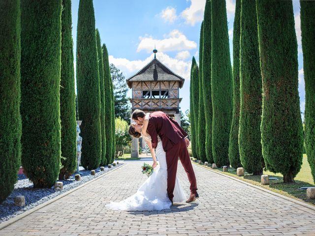 Le mariage de Martin et Alexandra à Vonnas, Ain 4