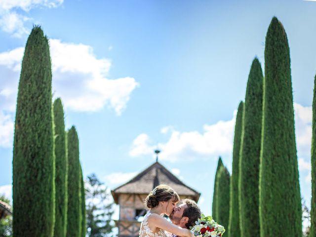 Le mariage de Martin et Alexandra à Vonnas, Ain 5
