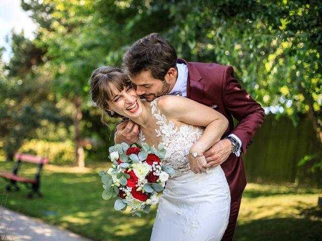 Le mariage de Martin et Alexandra à Vonnas, Ain 6