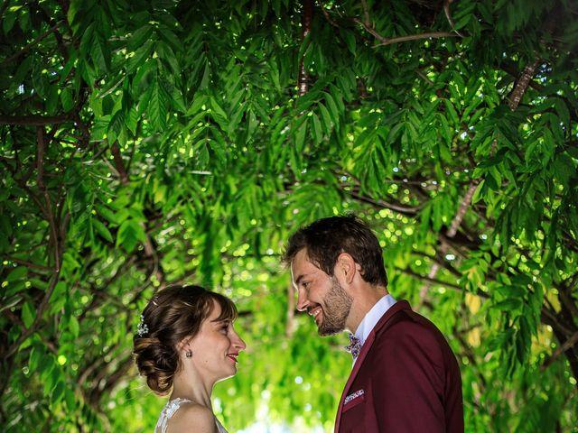 Le mariage de Martin et Alexandra à Vonnas, Ain 7