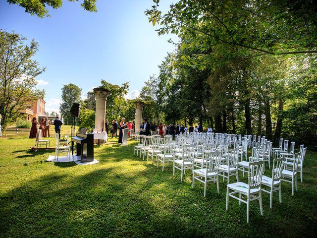 Le mariage de Martin et Alexandra à Vonnas, Ain 12