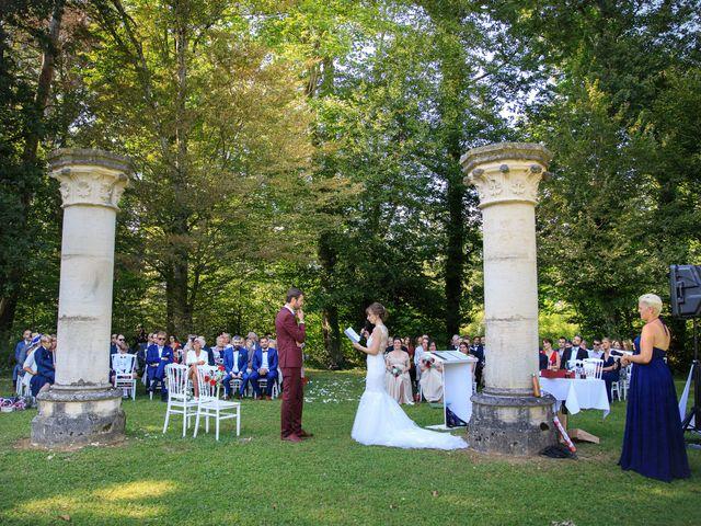 Le mariage de Martin et Alexandra à Vonnas, Ain 15