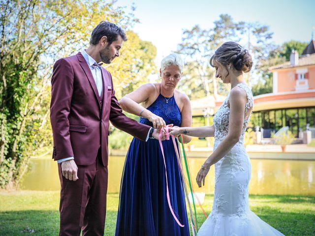 Le mariage de Martin et Alexandra à Vonnas, Ain 16